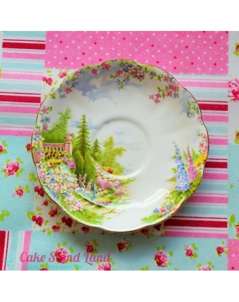 ROYAL ALBERT KENTISH ROCKERY SAUCER