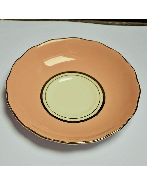 COLCLOUGH BALLET PINK TEA SAUCER