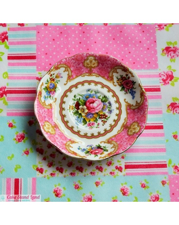 ROYAL ALBERT LADY CARLYLE SAUCER
