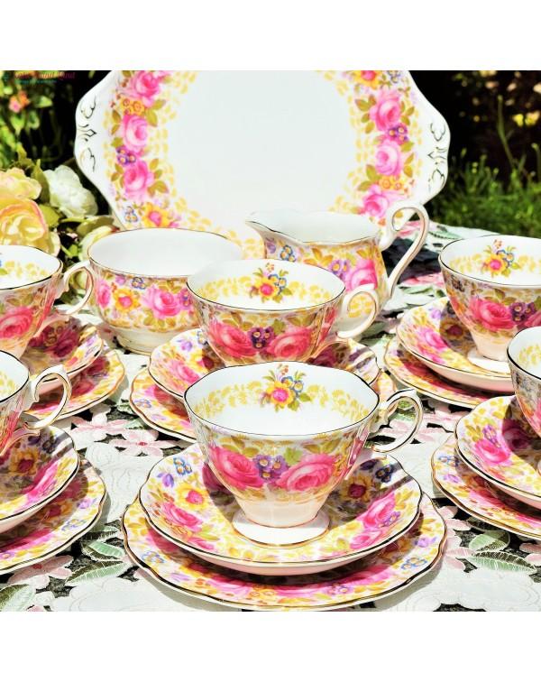 (SOLD) ROYAL ALBERT SERENA TEA SET