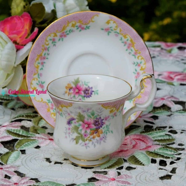 (SOLD) ROYAL ALBERT SERENITY COFFEE CUP & SAUCER