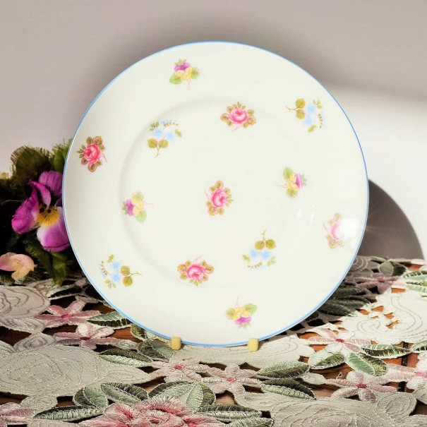 (SOLD) SHELLEY FLORAL TEA PLATE