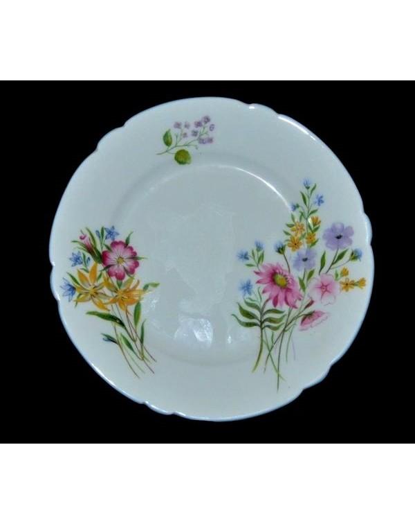 (SOLD) SHELLEY WILD FLOWERS TEA PLATE 16 cm