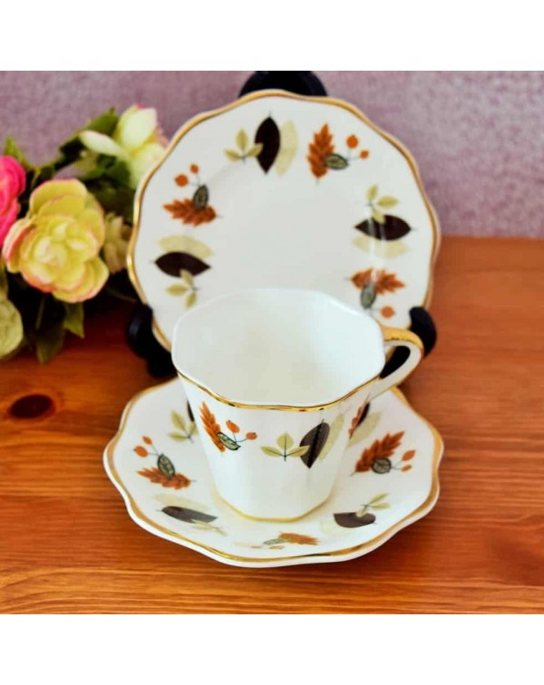 (OUT OF STOCK) SHERIDAN TEA TRIO