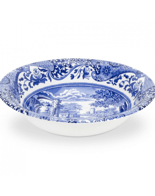 (SOLD) SPODE  BLUE ITALIAN CEREAL BOWL