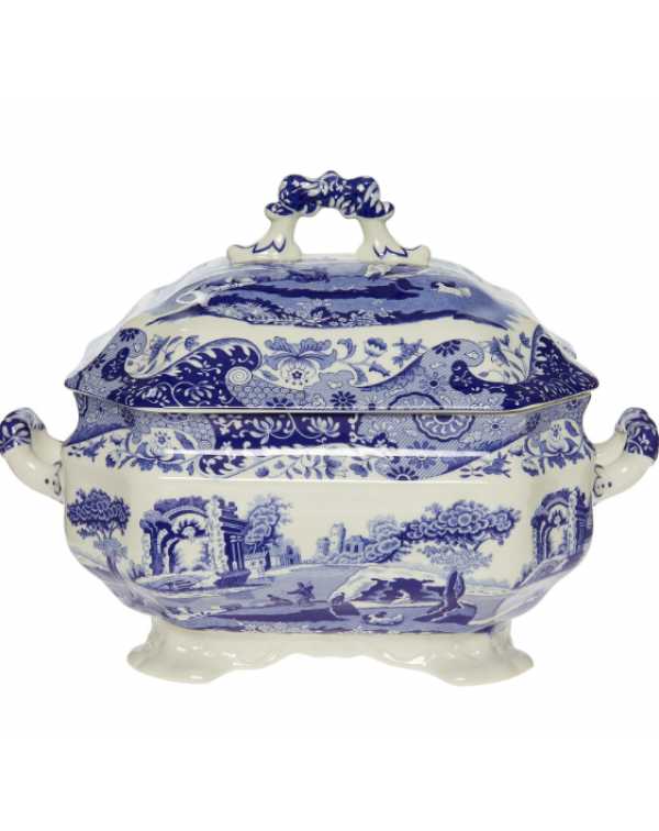 (OUT OF STOCK) SPODE ITALIAN BLUE TUREEN
