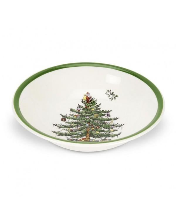 (SOLD) SPODE CHRISTMAS TREE BOWL