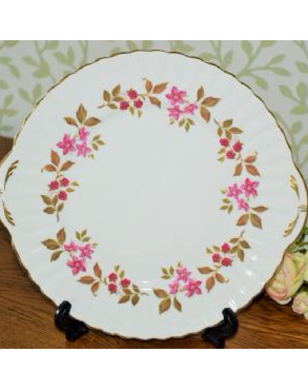 ROYAL STAFFORD FRAGRANCE CAKE PLATE