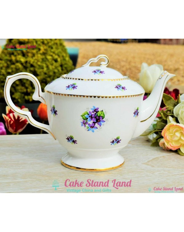 (OUT OF STOCK) ROYAL STAFFORD VINCA TEAPOT
