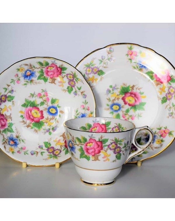 ROYAL STAFFORD ROCHESTER TEA TRIO