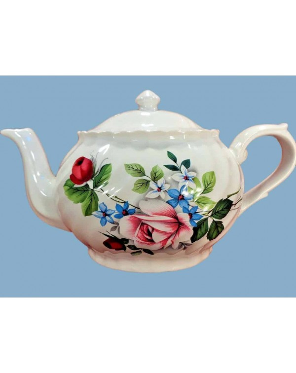 (OUT OF STOCK) STAFFORD FLORAL OVAL TEAPOT