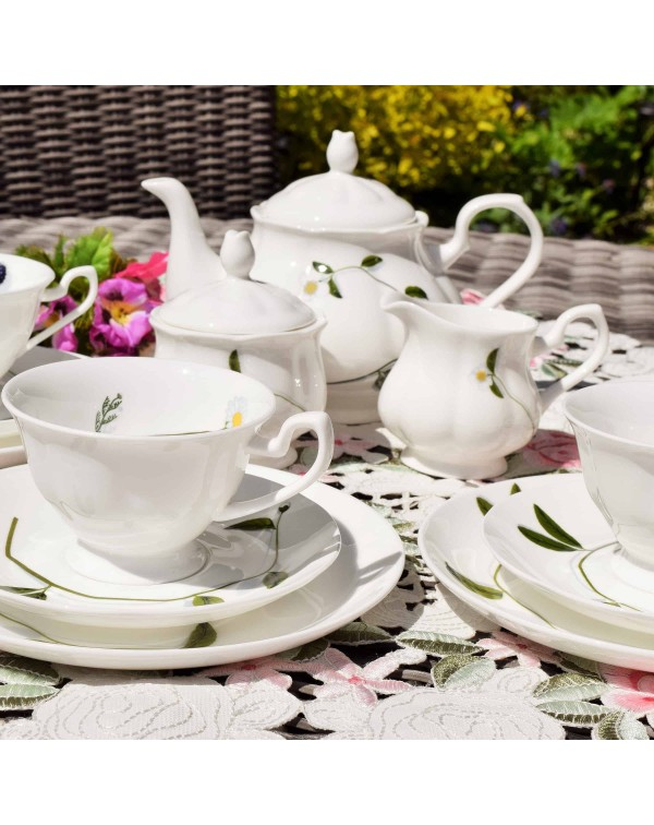 ROYAL SUFFOLK TEA SET FOR 4