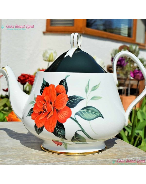 (SOLD) ROYAL ALBERT TAHITI TEAPOT