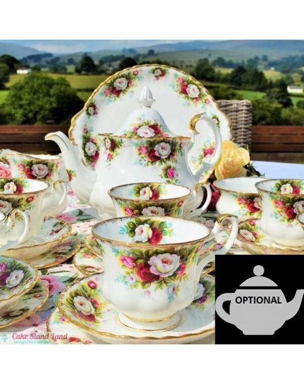 (SOLD) ROYAL ALBERT CELEBRATION TEA SET