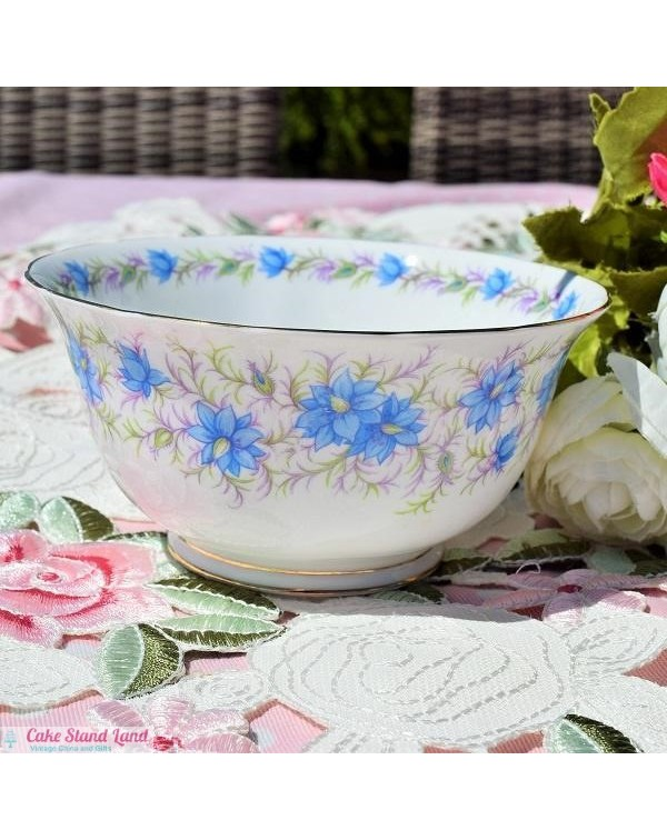TUSCAN CORNFLOWER SUGAR BOWL