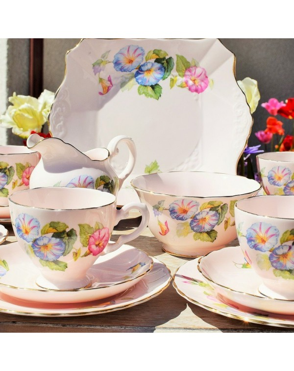 (OUT OF STOCK) TUSCAN CONVOLVULUS TEA SET