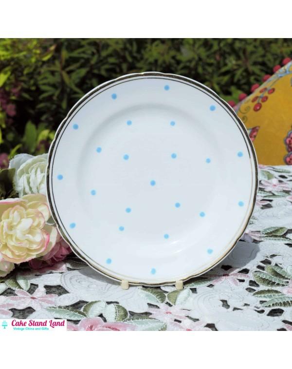 TUSCAN POLKA DOT TEA PLATE