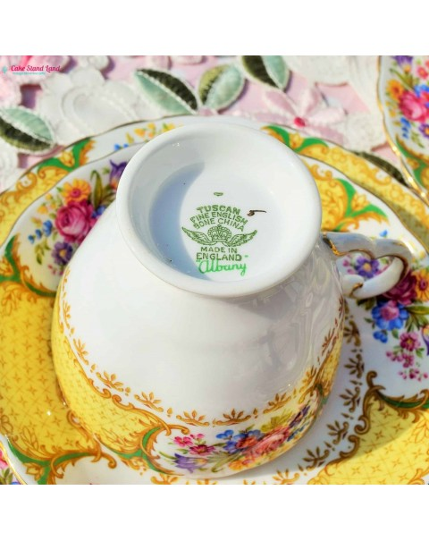 (OUT OF STOCK) TUSCAN ALBANY TEA TRIO