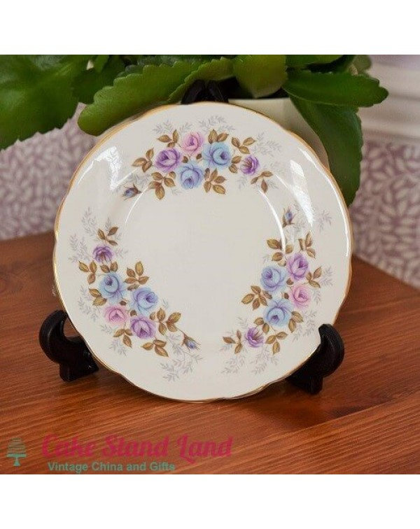 RANELLA ALPINE ROSE TEA PLATE