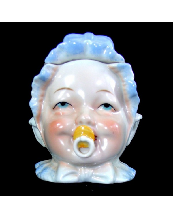 BABY HEAD TOBACCO JAR