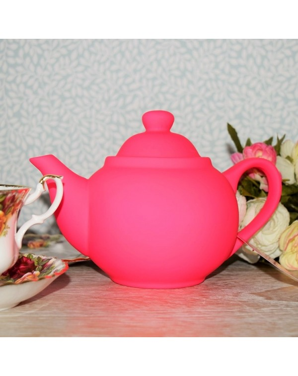 (OUT OF STOCK) BRIGHT FUNKY SHOCKING PINK TEAPOT N...