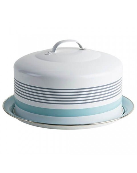 JAMIE OLIVER RETRO CARRY CAKE TIN DOME NEW