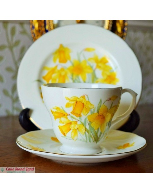 (OUT OF STOCK) DAFFODIL TEA TRIO