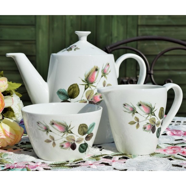 (OUT OF STOCK) IRONSTONE TEAPOT SET