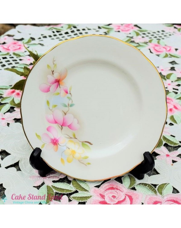 (OUT OF STOCK) NANRICH FLORAL TEA PLATE