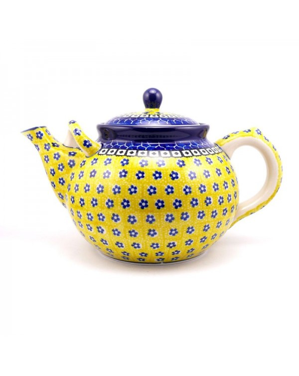 (OUT OF STOCK) 3.5 PINT HUGE DAISY TEAPOT NEW