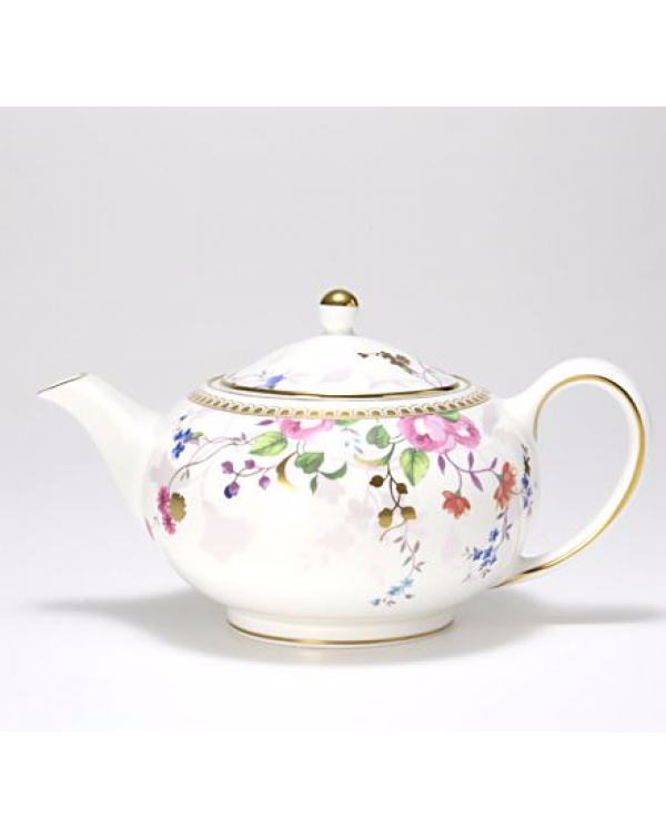 (OUT OF STOCK) WEDGWOOD ROSE GOLD LARGE NEW TEAPOT