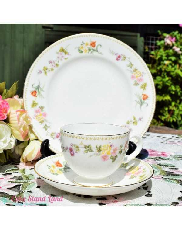 (OUT OF STOCK) WEDGWOOD MIRABELLE TEA TRIO