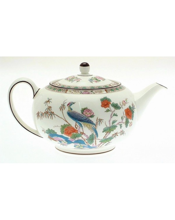 (OUT OF STOCK) WEDGWOOD KUTANI CRANE TEAPOT