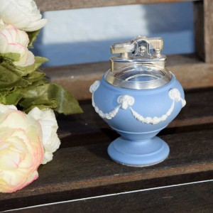 WEDGWOOD QUEENSWARE RONSON TABLE LIGHTER