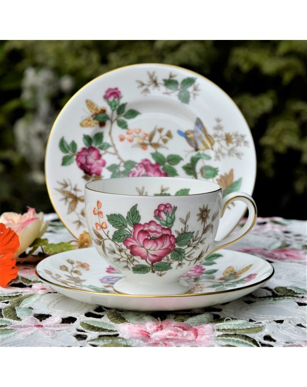 WEDGWOOD CHARNWOOD TEA TRIO