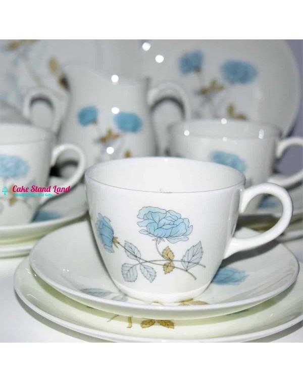 WEDGWOOD ICE ROSE TEA SET