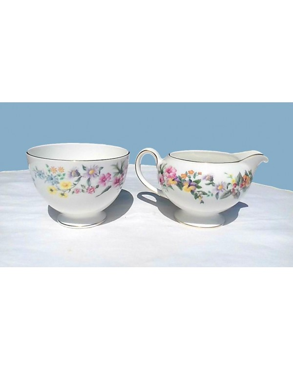 Wedgwood Downland Milk Jug & Sugar Bowl