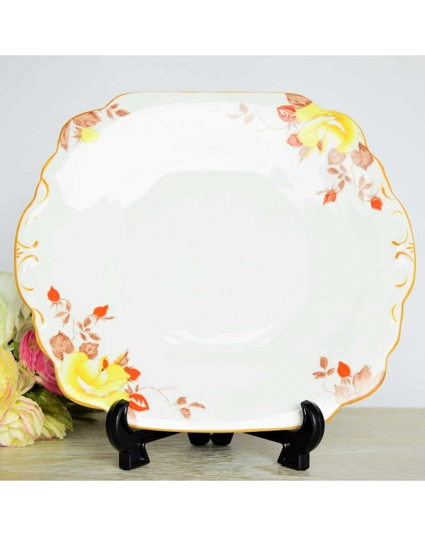 (OUT OF STOCK) WELLINGTON CHINA CAKE PLATE
