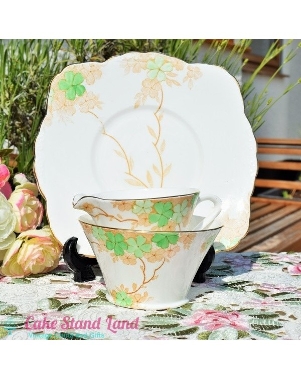 (OUT OF STOCK) ART DECO CAKE PLATE SET