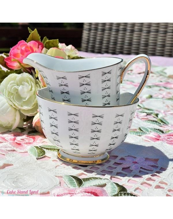 (OUT OF STOCK) WINDSOR CHINA MILK JUG & SUGAR ...