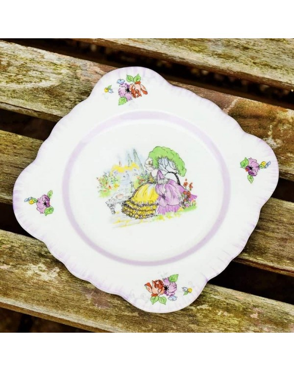 (OUT OF STOCK) WINDSOR LAVENDER LADY TEA PLATE