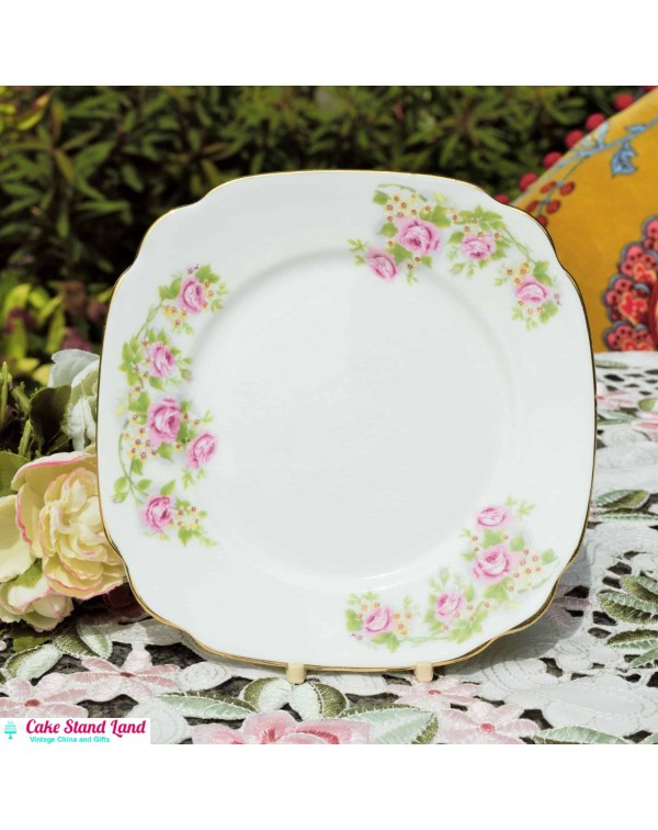 WINDSOR ROSES TEA PLATE