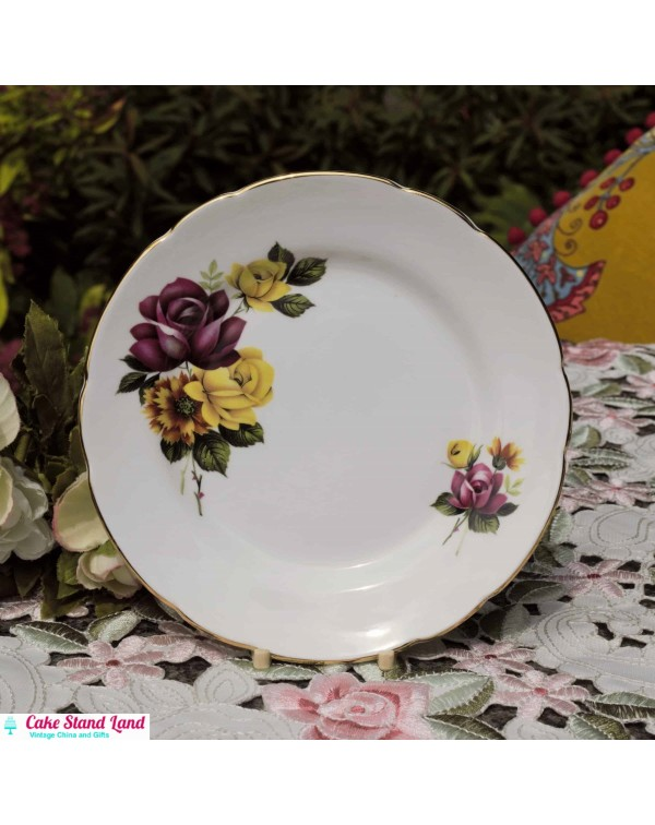 WINDSOR ROSE TEA PLATE