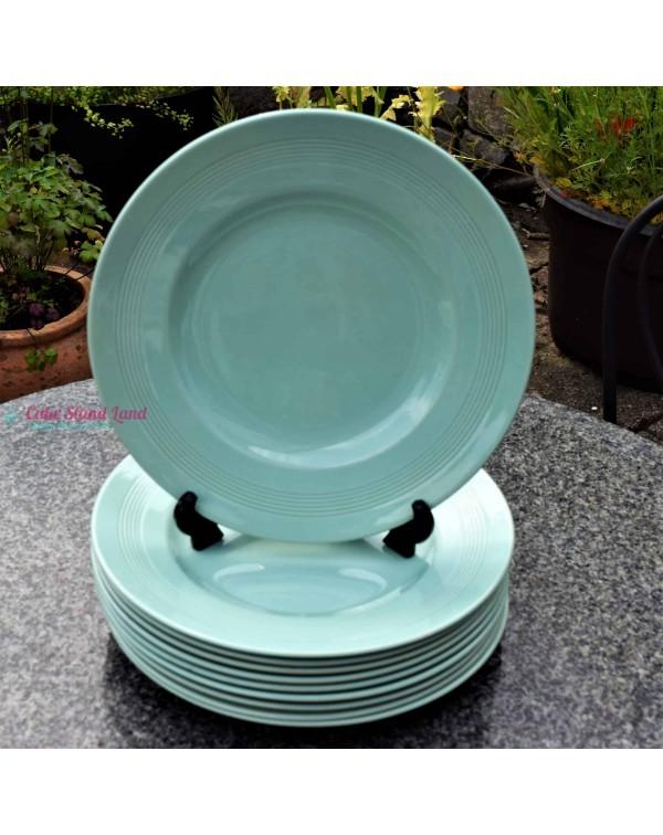 (SOLD) WOODS WARE BERYL GREEN DINNER PLATE