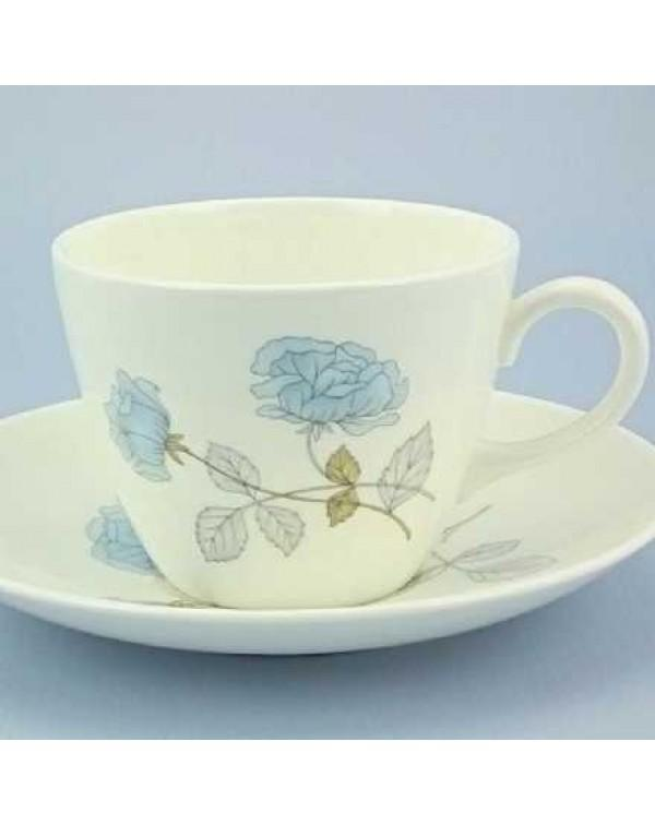 (OUT OF STOCK) WEDGWOOD ICE ROSE TEA CUP AND SAUCE...