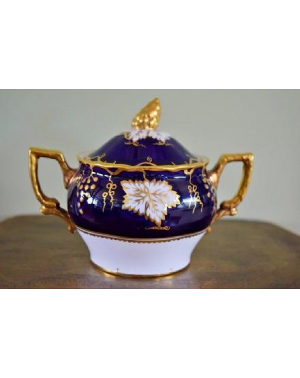 (OUT OF STOCK) ROYAL CROWN DERBY Vine Sugar Bowl