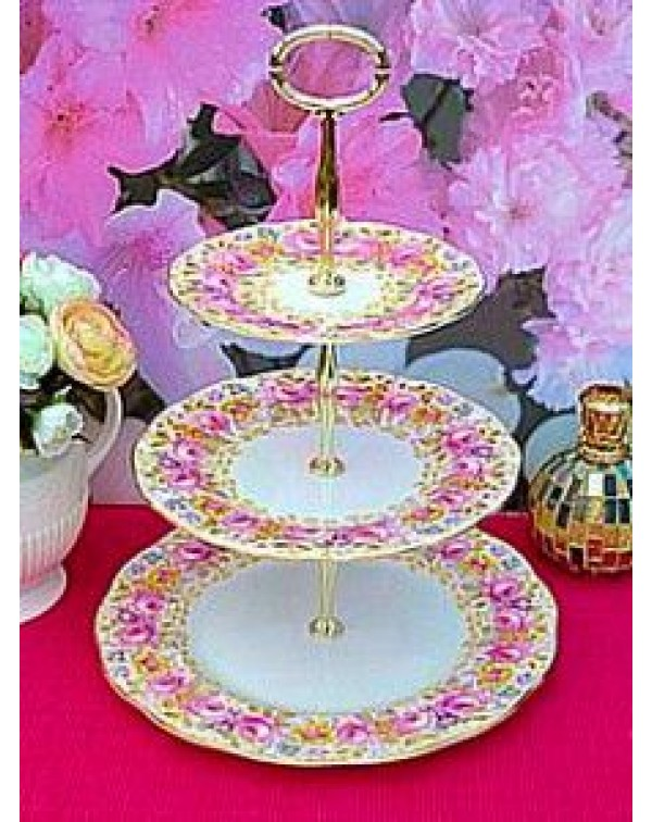 (OUT OF STOCK) ROYAL ALBERT SERENA CAKE STAND