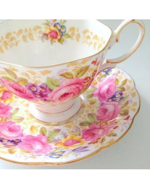 (OUT OF STOCK) ROYAL ALBERT SERENA CUP & SAUCER
