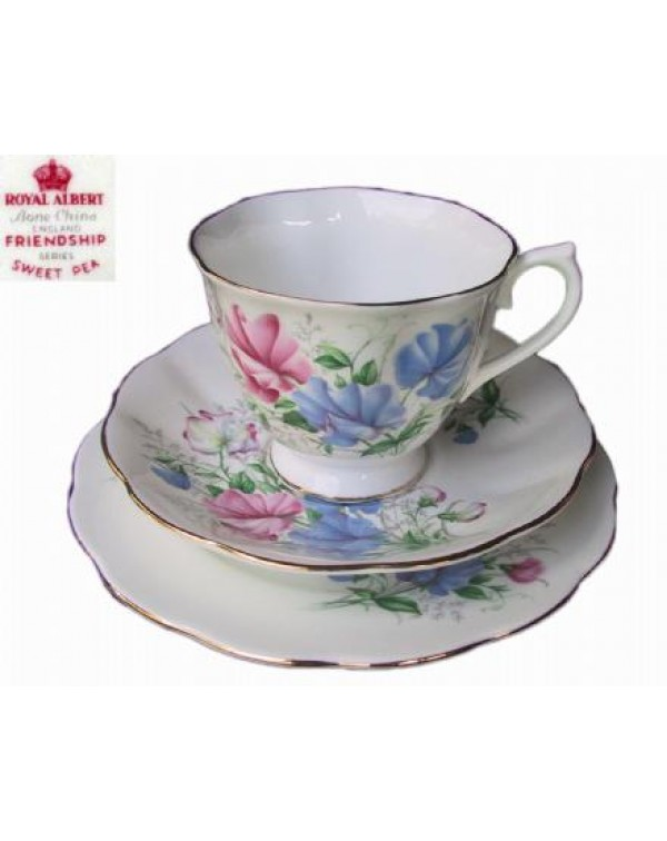 (OUT OF STOCK) ROYAL ALBERT SWEET PEA TRIO