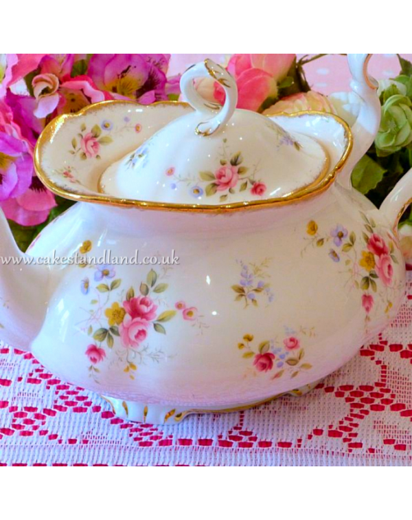 (SOLD) ROYAL ALBERT TENDERNESS TEAPOT